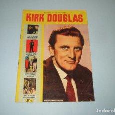 Cine: ANTIGUA REVISTA PARA MAYORES COLECCIÓN CINECOLOR CON KIRK DOUGLAS - AÑO 1958. Lote 75315967