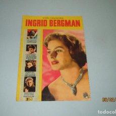 Cine: ANTIGUA REVISTA PARA MAYORES COLECCIÓN CINECOLOR CON INGRID BERGMAN - AÑO 1958. Lote 75316079