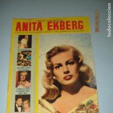 Cine: ANTIGUA REVISTA PARA MAYORES COLECCIÓN CINECOLOR CON ANITA EKBERG - AÑO 1958. Lote 75316243