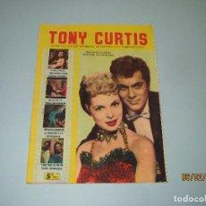 Cine: ANTIGUA REVISTA PARA MAYORES COLECCIÓN CINECOLOR CON TONY CURTIS - AÑO 1958. Lote 75316363