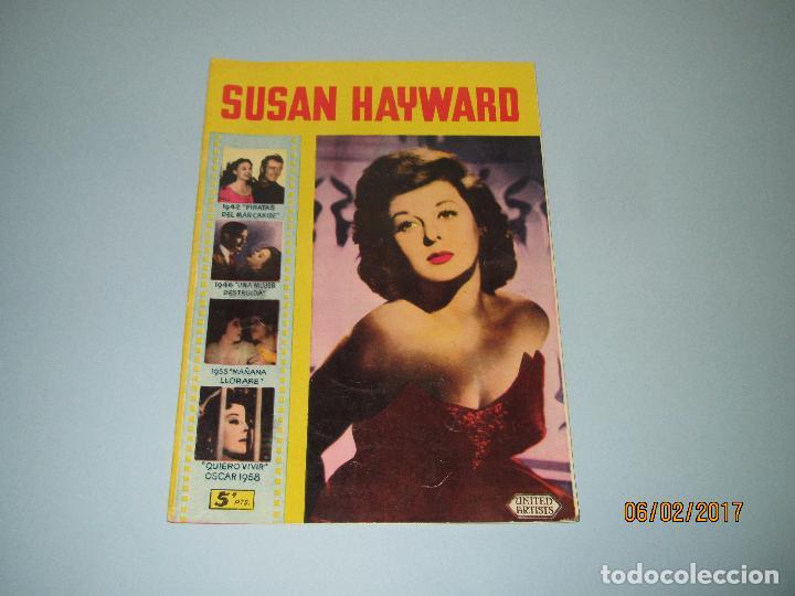 ANTIGUA REVISTA PARA MAYORES COLECCIÓN CINECOLOR CON SUSAN HAYWARD - AÑO 1958 (Cine - Revistas - Cinecolor)