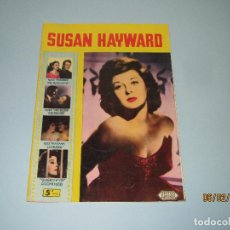 Cine: ANTIGUA REVISTA PARA MAYORES COLECCIÓN CINECOLOR CON SUSAN HAYWARD - AÑO 1958. Lote 75318019