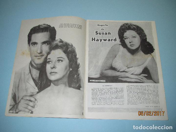 Cine: Antigua Revista para Mayores Colección CINECOLOR con SUSAN HAYWARD - Año 1958 - Foto 3 - 75318019