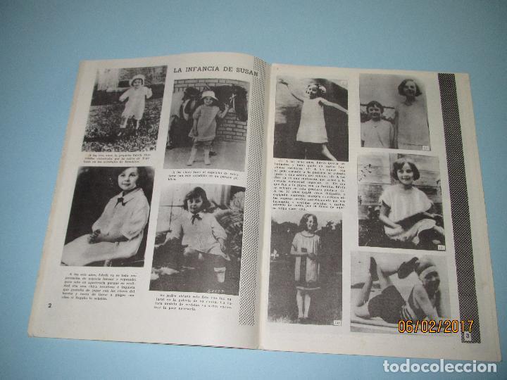 Cine: Antigua Revista para Mayores Colección CINECOLOR con SUSAN HAYWARD - Año 1958 - Foto 4 - 75318019
