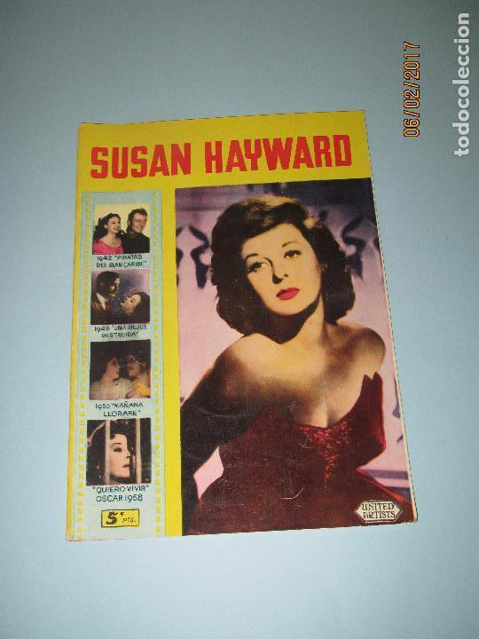 Cine: Antigua Revista para Mayores Colección CINECOLOR con SUSAN HAYWARD - Año 1958 - Foto 5 - 75318019