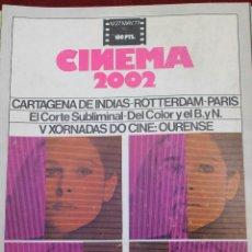Cine: CINEMA 2002, Nº 27 1977, V XORNADAS DO CINE: OURENSE, ELISA VIDA MIA.. Lote 75530843