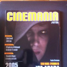 Cine: REVISTA CINEMANIA Nº 112 AÑO 2005 - STAR WARS. Lote 75602259