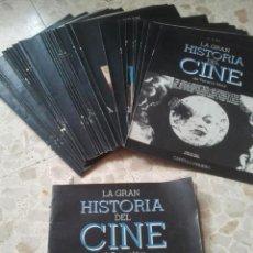Cine: LA GRAN HISTORIA DEL CINE - TERENCI MOIX - PLAN GENERAL DE LA OBRA + 37 FASCÍCULOS - VER NÚMEROS. Lote 75849767