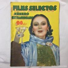 Cine: FILMS SELECTOS 1934 NUMERO EXTRAORDINARIO. Lote 75863199