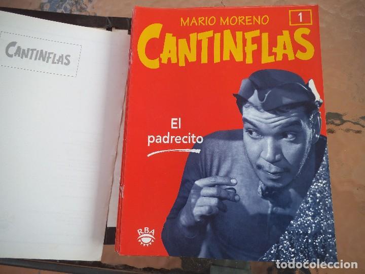 COLECCIÓN DE FASCICULOS RBA MARIO MORENO CANTIFLAS 2003 (Cine - Revistas - Colección ídolos del cine)
