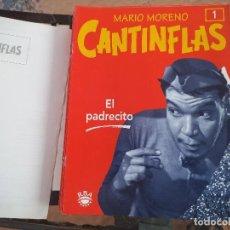 Cine: COLECCIÓN DE FASCICULOS RBA MARIO MORENO CANTIFLAS 2003. Lote 75899779