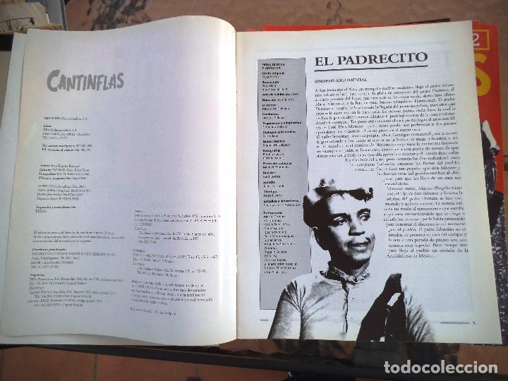 Cine: COLECCIÓN DE FASCICULOS RBA MARIO MORENO CANTIFLAS 2003 - Foto 2 - 75899779