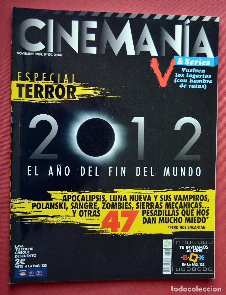 CINEMANIA & SERIES - NOVIEMBRE 2009 - Nº 170 - ESPECIAL TERROR (Cine - Revistas - Cinemanía)