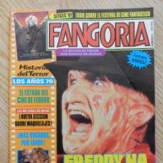 Cinema: REVISTA FANGORIA Nº 4 FREDDY HA MUERTO CON SU POSTER CINE DE TERROR MAQUILLAJE LA PROFECIA SITGES 91. Lote 76599599