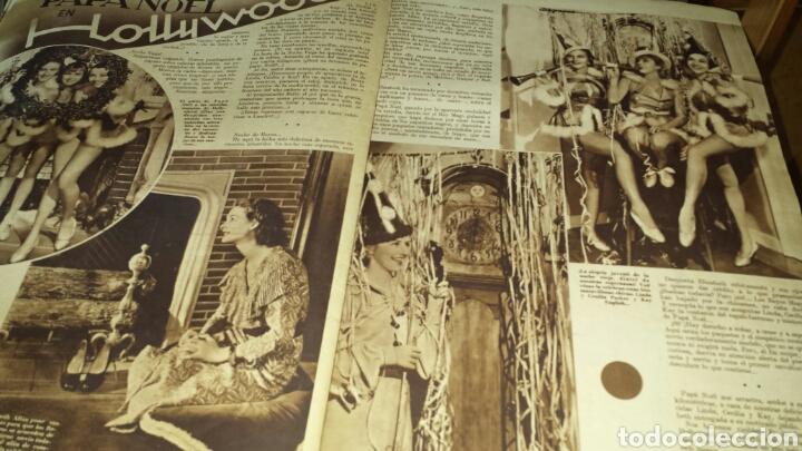 Cine: Cinegramas año I número 16 30 diciembre 1934 Shirley Temple - Foto 5 - 76610998