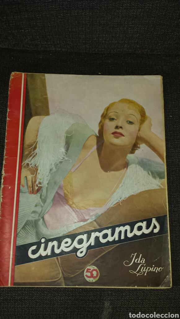 CINEGRAMA REVISTA SEMANAL AÑO II NÚMERO 28 24 DE MARZO 1935 IDA LUPINO (Cine - Revistas - Cinegramas)