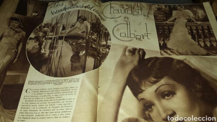 Cine: Cinegrama revista semanal año II número 28 24 de marzo 1935 Ida Lupino - Foto 5 - 76611401