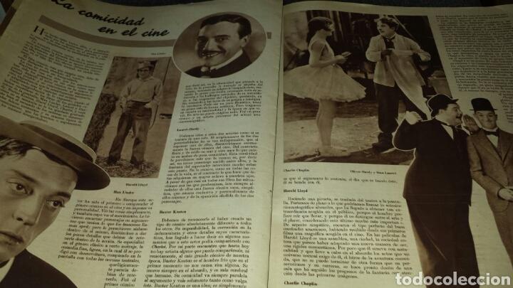 Cine: Cinegrama revista semanal año II número 28 24 de marzo 1935 Ida Lupino - Foto 6 - 76611401