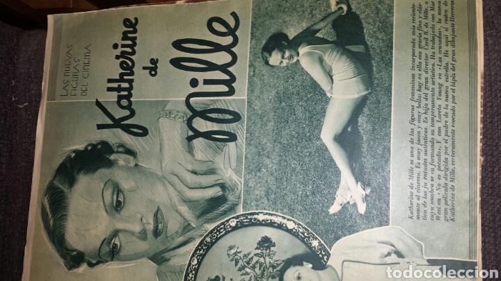 Cine: Revista cinegramas año II número 38 2 de junio 1935 Rosita Díaz - Foto 4 - 76612125