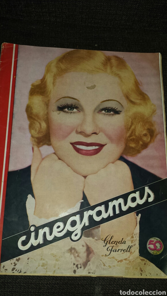 REVISTA CINEGRAMAS AÑO II NÚMERO 57 13 OCTUBRE 1935 GLENDA FARRELL (Cine - Revistas - Cinegramas)