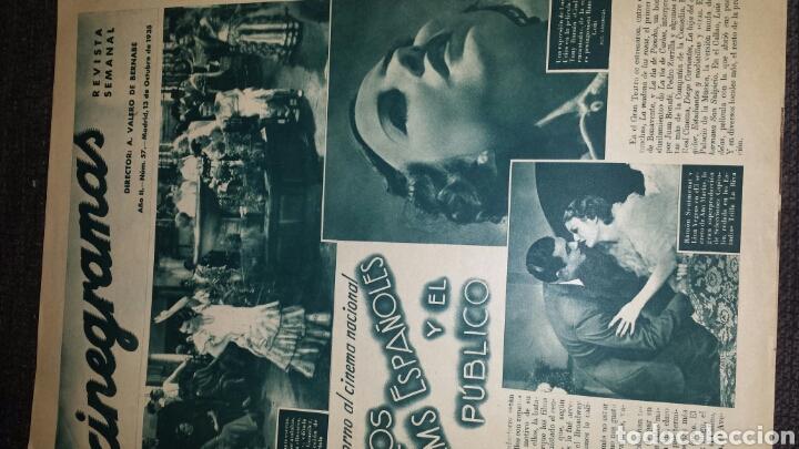 Cine: Revista cinegramas año II número 57 13 octubre 1935 Glenda Farrell - Foto 2 - 76612781