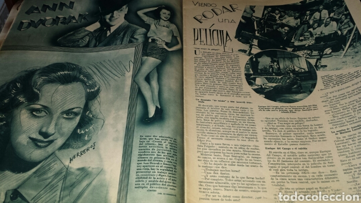 Cine: Revista cinegramas año II número 57 13 octubre 1935 Glenda Farrell - Foto 4 - 76612781