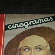 Cine: REVISTA CINEGRAMAS AÑO II NÚMERO 64 1 DICIEMBRE 1935 MONA GOYA. Lote 76613207