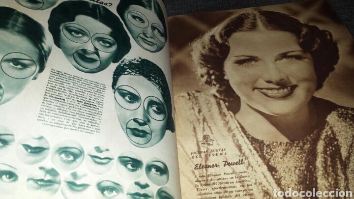 Cine: Revista cinegramas año II número 64 1 diciembre 1935 mona Goya - Foto 5 - 76613207