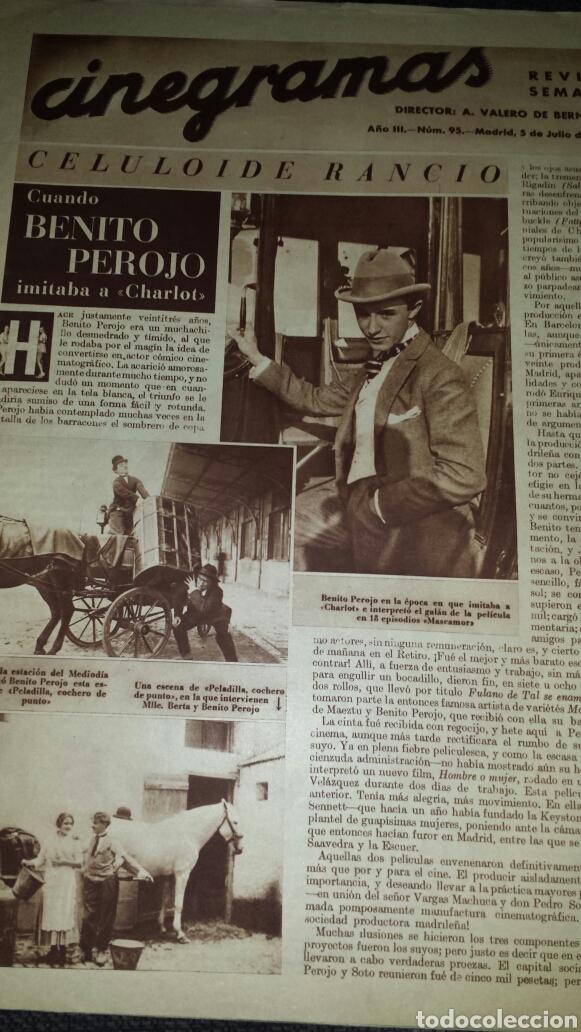 Cine: Revista cinegramas año III número 95 5 de julio 1936 Gail Patrick - Foto 2 - 76614387