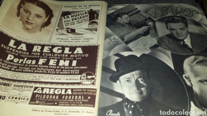 Cine: Revista cinegramas año III número 95 5 de julio 1936 Gail Patrick - Foto 5 - 76614387