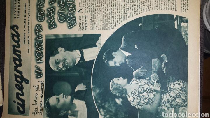 Cine: Revista cinegramas año II número 55 29 de septiembre 1935 Helen Twelvetrees - Foto 2 - 76615439