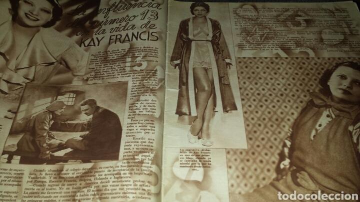 Cine: Revista cinegramas año II número 55 29 de septiembre 1935 Helen Twelvetrees - Foto 3 - 76615439