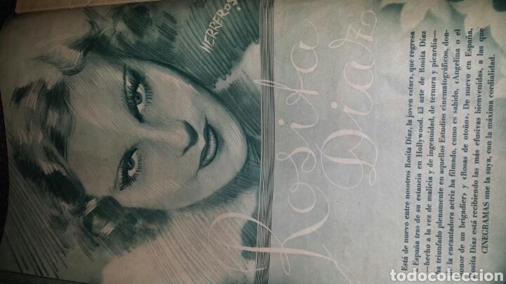 Cine: Revista cinegramas año II número 55 29 de septiembre 1935 Helen Twelvetrees - Foto 4 - 76615439