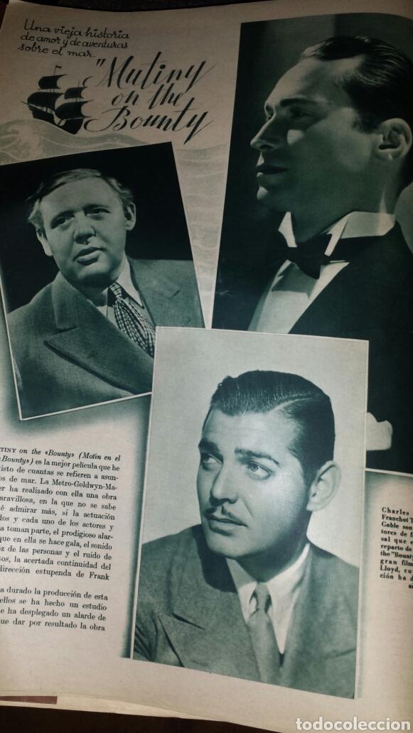Cine: Revista cinegramas año III número 70 12 enero 1936 Gail Patrick - Foto 4 - 76615883