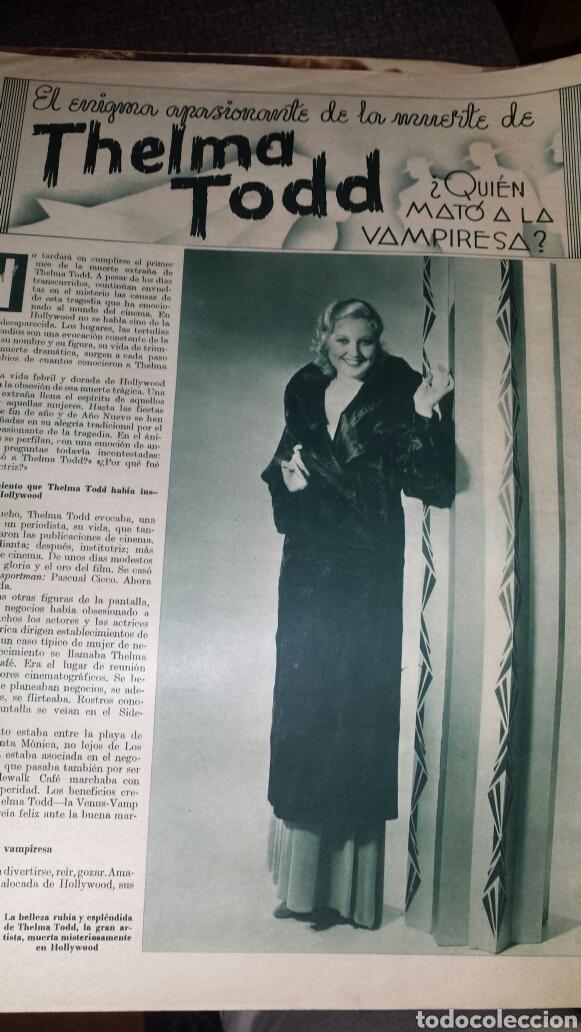 Cine: Revista cinegramas año III número 70 12 enero 1936 Gail Patrick - Foto 5 - 76615883
