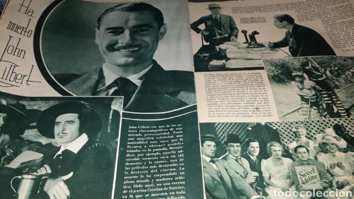 Cine: Revista cinegramas año III número 70 12 enero 1936 Gail Patrick - Foto 6 - 76615883