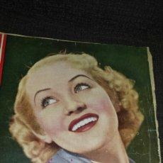 Cine: REVISTA CINEGRAMAS AÑOS SEGUNDO NÚMERO 56 6 DE OCTUBRE 1935 BETTY GRABLE. Lote 76617371
