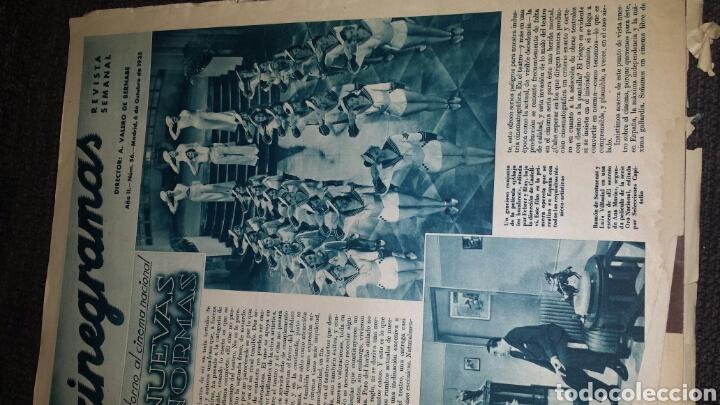 Cine: Revista cinegramas años Segundo número 56 6 de octubre 1935 Betty Grable - Foto 2 - 76617371