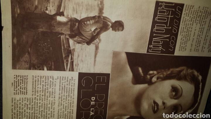 Cine: Revista cinegramas años Segundo número 56 6 de octubre 1935 Betty Grable - Foto 3 - 76617371