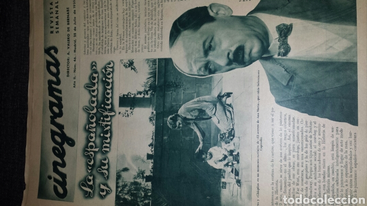 Cine: Revista cinegramas año II número 46 28 julio 1935 Ann Dvorak - Foto 2 - 76617995