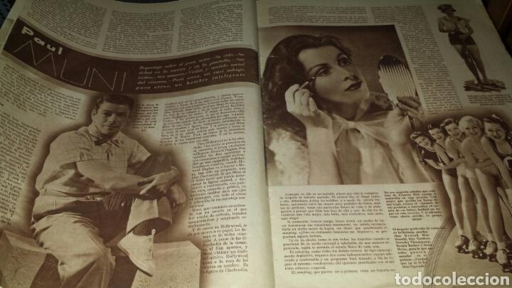 Cine: Revista cinegramas año II número 46 28 julio 1935 Ann Dvorak - Foto 3 - 76617995