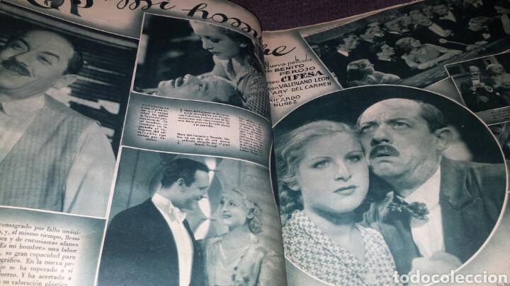 Cine: Revista cinegramas año 1936. MONETTE DINAY - Foto 3 - 76619687