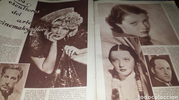 Cine: Revista cinegramas año 1936. MONETTE DINAY - Foto 5 - 76619687