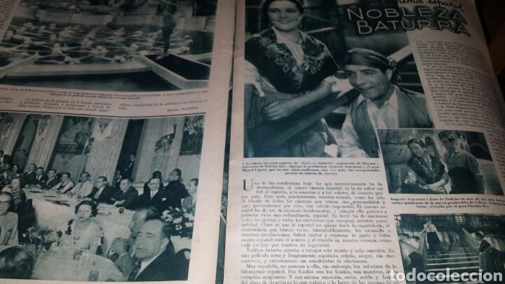 Cine: Revista cinegramas año 1936. MONETTE DINAY - Foto 6 - 76619687