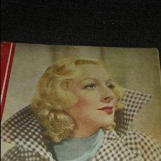 Cine: REVISTA CINEGRAMAS AÑO II NÚMERO 65 8 DICIEMBRE 1935 GETRUDE MICHEL. Lote 76613657