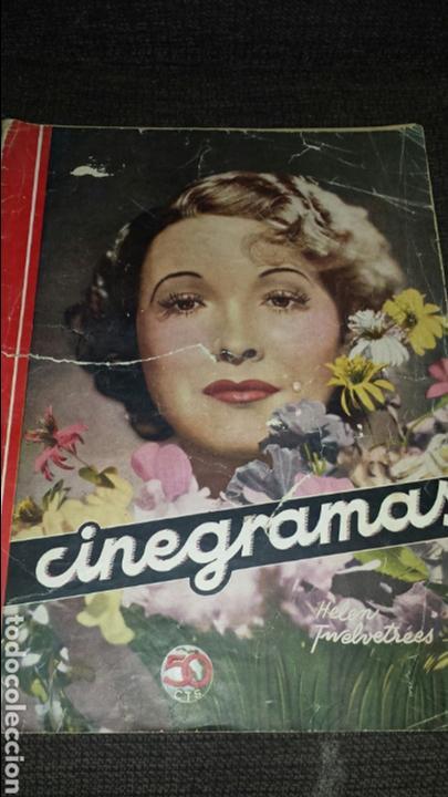 REVISTA CINEGRAMAS AÑO II NÚMERO 55 29 DE SEPTIEMBRE 1935 HELEN TWELVETREES (Cine - Revistas - Cinegramas)