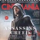 Cine: CINEMANIA N. 256 ENERO 2017 - EN PORTADA: ASSASSIN'S CREED (NUEVA). Lote 126963706