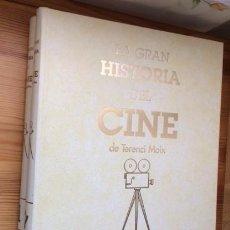 Cine: LA GRAN HISTORIA DEL CINE DE TERENCI MOIX.2 TOMOS ENCUADERNADOS CON FASCICULOS DEL PERIODICO ABC. Lote 76678535