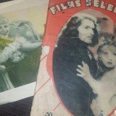Cine: FILMS SELECTOS Nº 200. 11 AGO.1934.MARLENE DIETRICH Y JOHN LODGE. Lote 76779617