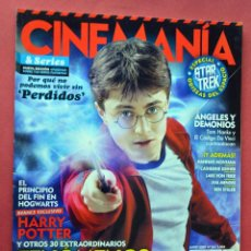 Cine: CINEMANIA & SERIES - MAYO 2009 - Nº 164 - HARRY POTTER - ANGELES Y DEMONIOS - PERDIDOS. Lote 76779907